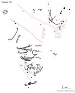 Skeppsfigur, Djurfigur, Skålgropar Älvkvarnar, Fotsula, Cirkelfigur, Cirkelf. hjulkors
