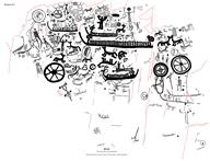 Ramfigur, Skeppsfigur, Djurfigur fågel, Människofigur, Djurfigur, Skålgropar Älvkvarnar, Fotsula, Vagnsfigur, Cirkelfigur, Kalkering, Djurfigur häst, Djurfigur hjort, Cirkelfigur hjulkors, Cirkelfigur koncentriska, Människofigur Voltigör, Människofigur Adorant, Obestämbar figur