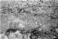 Skålgropar Älvkvarnar, Detalj, Ikritad
