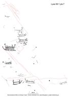 Skeppsfigur, Människofigur, Skålgropar Älvkvarnar, Detalj, Kalkering